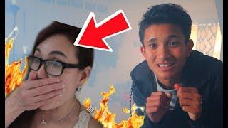 HOUSE CAUGHT ON FIRE PRANK ON MY MOM!?!?