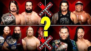 Possible Match That Will Main Event Extreme Rules 2018 Revealed