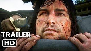 RED DEAD REDEMPTION 2 Official Trailer # 3 (NEW, 2018) John Marston, Rockstar Game HD