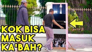 PINTU DORAEMON KE KA'BAH MEKKAH | MAGIC DOOR PRANK #2
