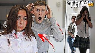 14 YEAR OLD SISTER GOT BEATEN UP PRANK ON MUM!! *PROTECTIVE*