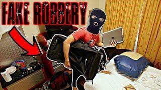 DISNEY HOTEL ROBBERY PRANK ON FRIENDS!