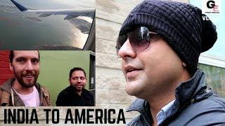 VLOG 1: India to America | the journey begins !!!!