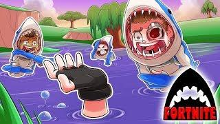 INTRODUCING THE SHARK TANK TRAP TROLL! (Fortnite Funny Moments)