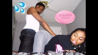 FEMALE V.I.A.G.R.A PRANK (SHE GOES CRAZY)
