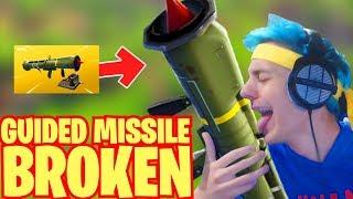 GUIDED MISSILE IS BROKEN! Fortnite Funny & WTF Moments #3 - Fortnite LOL Funny Montages