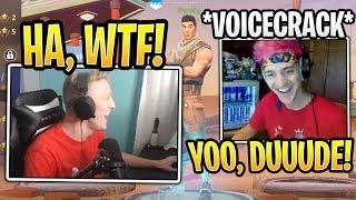 Tfue Reacts to Ninja Impersonating Him! - Fortnite Best and Funny Moments