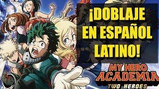 ¡BOKU NO HERO EN ESPAÑOL LATINO! | Reaccionando al trailer en español de My Hero Academia