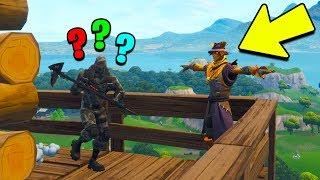 FAKE SCARECROW FUNNY MOMENTS in Fortnite Battle Royale
