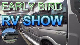 Campervans & Small Trailers at the Early Bird RV Show