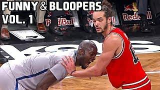 NBA Funny Moments & Bloopers of All Time Vol. 1 ● Curry, LeBron, Durant, Harden