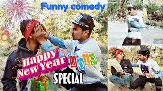 NEW YEAR 2019 SPECIAL || FULL FUNNY VIDEO || HIMACHALI BOYS || Rehlu Boys
