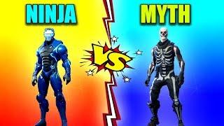 NINJA vs MYTH in Fortnite Battle Royale! (Fortnite Funny Fails and Best Moments) #17