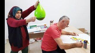 COCA Cola BALLOON in PRANK! ONLY BALLOON COCA COLA hair KEREM'İN JOKE