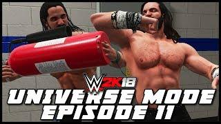 WWE 2K18 | Universe Mode - 'EXTREME RULES PPV!' (PART 2/2) | #11