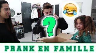 PRANK : ON PIEGE JOSH EN FAMILLE !!