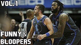 NBA Funny Moments & Bloopers of 2018/19 Season - Vol. 1