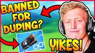 TFUE SHOWS C4 DUPING EXPLOIT! | Fortnite Epic & Funny Moments