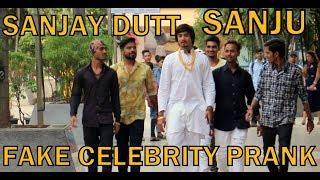 SANJAY DUTT (SANJU) FAKE CELEBRITY PRANK | PRANK IN INDIA | BY VJ PAWAN SINGH