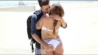 ???? Extreme Hot Kissing Pranks Booty Buzzpranks - Prank Invasion - trending pranks - prank generato