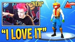 Ninja REACTS to *NEW* Durrr Burger Skin! - Fortnite Funny Fails & WTF Moments #271