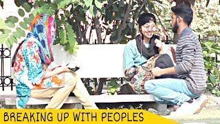 Breaking Up With Cute Girls Prank | KEMU | Prank In Pakistan