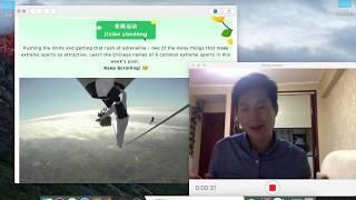 easy way to learn Chinese : extreme sports 极限运动