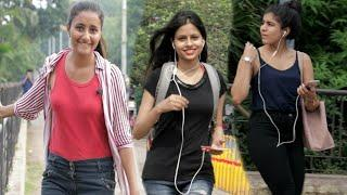Cute Girl Saying: Aukat me raho   prank gone wrong   public prank   best prank in India   {BR bhai}