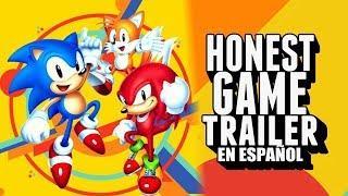 SONIC MANIA (Honest Game Trailers en español)