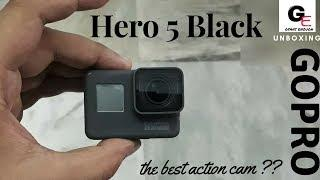 GoPro Hero 5 Black | unboxing & review in hindi | features | specifications | price !!!