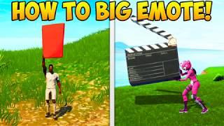 HOW TO MAKE ANY EMOTE BIG! - Fortnite Funny Fails and WTF Moments! #244 (Daily Moments)