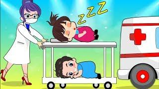 Baby Sleep Apricot and Doctor Funny Story! Popular Kids Songs by Cartoons Sun & Moon