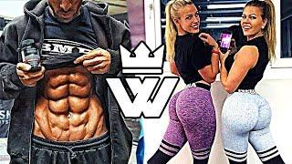 CRAZY STRONG and FUNNY Fitness MOMENTS 2018!