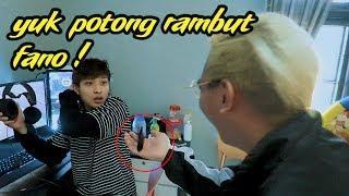 PRANK MOTONG RAMBUT FANO ! SAMPE MARAH MARAH !