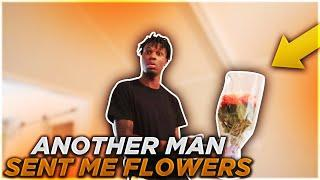 ANOTHER MAN SENT ME FLOWERS PRANK ON BOYFRIEND!!! **GETS EMOTIONAL**