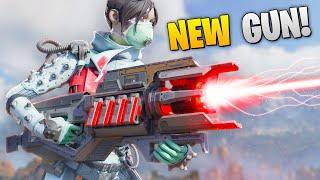 *NEW* DEFENDER GUN FIRST LOOK!! | Best Apex Legends Funny Moments and Gameplay - Ep.85