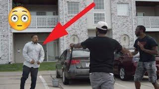 STEALING GAS PRANK GONE WRONG! I GOT CHASED! (CLASSIC)