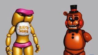 FNAF FUNNY MOMENTS (Try Not to Laugh Challenge)