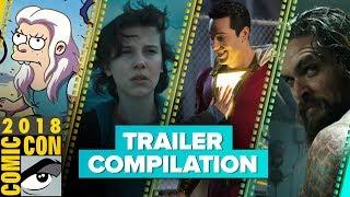 All the best trailers from Comic-Con 2018 (Compilation)