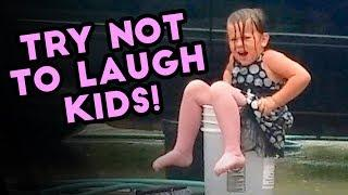TRY NOT TO LAUGH CHALLENGE | Funny Kids Epic Fails Compilation | FB, IG, SC July 2018
