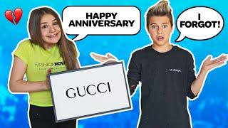 FORGOT OUR ANNIVERSARY PRANK **MY BOYFRIEND REACTS** ????????| Piper Rockelle