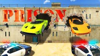 ESCAPE THE PRISON CHALLENGE! (GTA 5 Funny Moments)