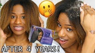 I PERMED MY NATURAL HAIR AFTER 4 YEARS PRANK! THEY FREAK OUT!