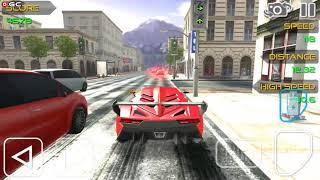"Born 2 Race - Extreme Speed - Car Racing Game ""Red Sports Car"" Android Gameplay FHD #3"