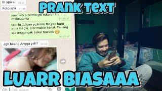 Prank Text Minta PAP TT Sama Pacar Temen wkwk