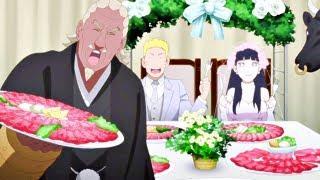 Naruto's wedding funny moments