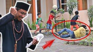 Prank Santet Orang, Bocah Lari kocar kacir ketakutan ngakakk PART 2