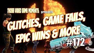 Glitches, Game Fails, Epic & Funny Gaming Moments (PUBG, Fortnite, Burnout Paradise & more!) #172 ??
