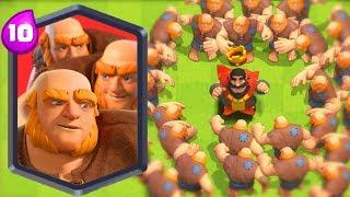 ONE PUNCH GIANT!!! ULTIMATE Clash Royale Funny Moments Part 77 - Clash LOL Funny Montages, Glitches