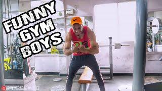 FUNNY GYM BOYS || Hyderabad Diaries